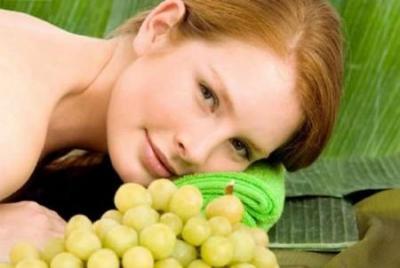 Salute e bellezza con l'uva