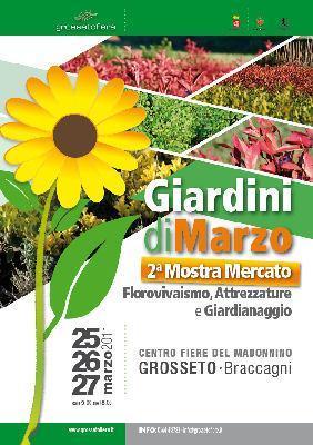 Mostra Mercato Giardini di Marzo a Braccagni