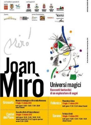 Joan Miro' in Mostra in Maremma